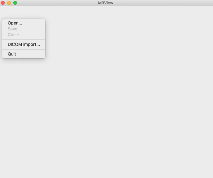Mrview display problems after Mac Mojave upgrade - mrview - MRtrix3